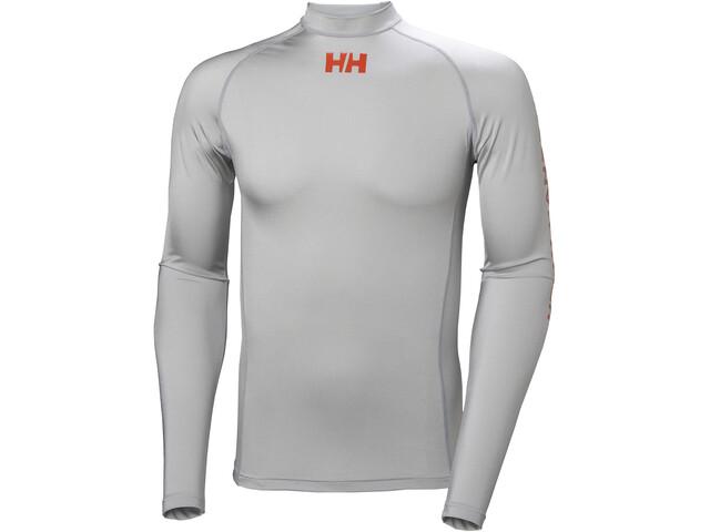 Helly Hansen Waterwear Rashguard Miehet, grey fog